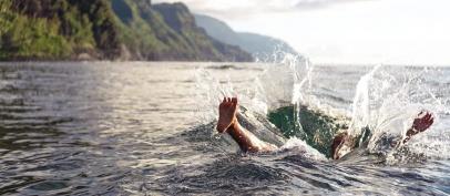 شنا کردن و گوش